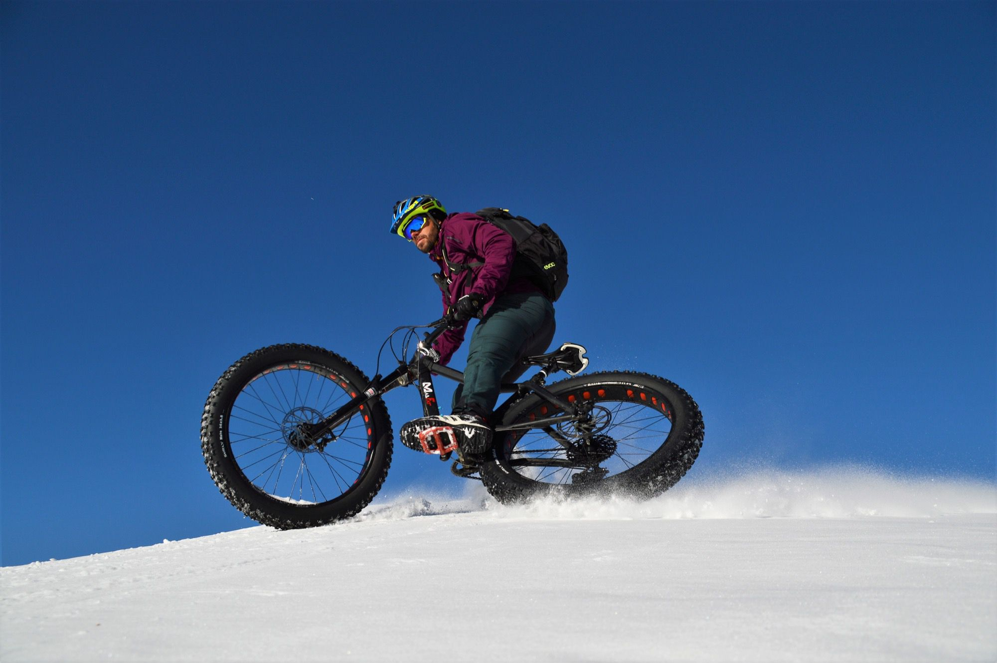 Fat Bike guided tours in Livigno